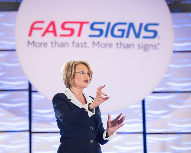 Catherine Monson, CEO of FASTSIGNS