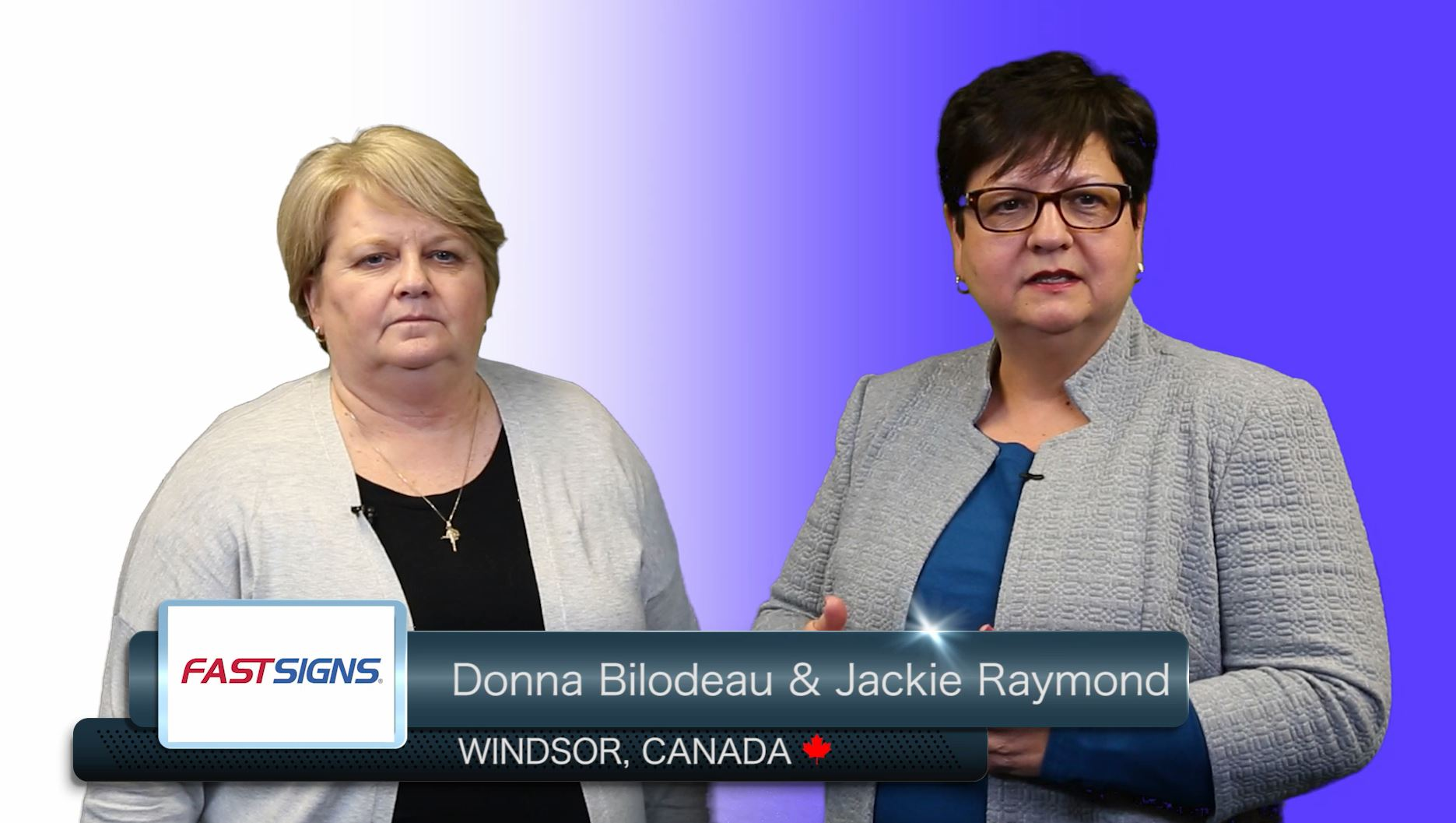 Franchise Owners - Donna Bilodeau & Jackie Raymond