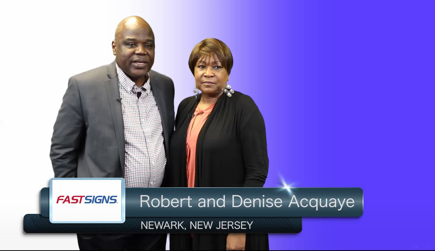 Franchise Owners - Robert & Denise Acquaye
